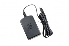 Raspberry Pi 3 Model B Official AC Adapter [Black]
